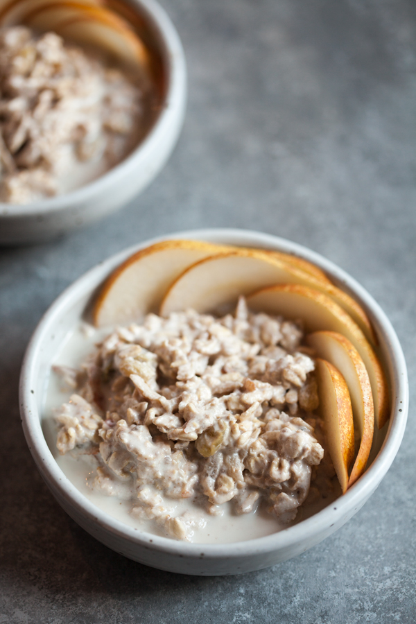 Pear and Walnut Muesli